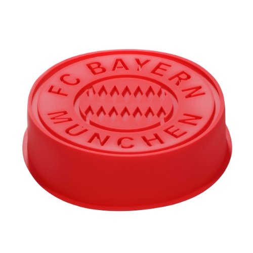 FC Bayern München Backform Silikon 20cm Silicone Mould
