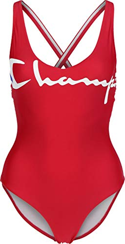 Champion W Badeanzug red