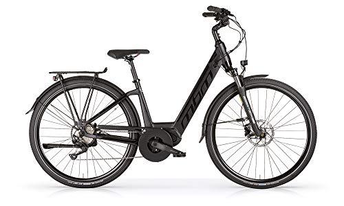 MBM E SINOPE TKK D 10 V All 14 Ah, Bicicleta para Mujer, Negro A01, 43