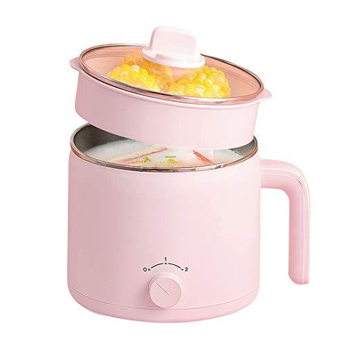 JTJxop Electric Hot Pot, 1.2L Electric Cooker,...