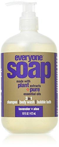 EVERYONE Soap, Lavender & Aloe, 16 Ounce