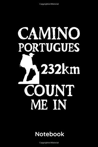 Camino De Portugues: 6x9 Notizbuch, Planer Kariert für Pilgerer | Wandern | Jakobsweg | Notizheft 120 Seiten
