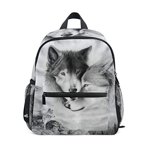 Rucksack für Kleinkinder, Motiv: Wolf