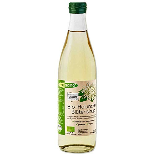 Frusano Holunderblütensirup, 500 ml