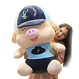 Dyl Pillow Cute Schwein Puppe Plüsch Spielzeug Mädchen Schlafkissen Baseball Cap Plüsch Spielzeug...