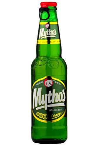 Mythos Bier 12er Pack Griechenland | Griechenland Import Bier (12x 330m Glas Flaschen inkl. Pfand)