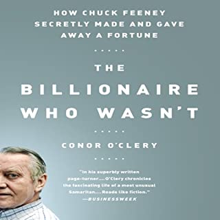 How Chuck Feeney Made and Gave Away a Fortune audiobook cover art