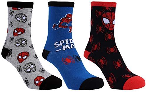 per uomo e ragazzo calzini termici in 3/fantasie Marvel e Disney Heat Holders