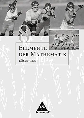 Elemente der Mathematik SI - Ausgabe 2005 für Nordrhein-Westfalen: Lösungen 8