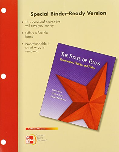 Looseleaf for The State of Texas with Connect Plus