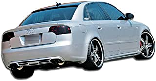 Extreme Dimensions Duraflex Replacement for 2002-2008 Audi A4 B6 B7 S4 4DR Wagon A-Tech Side Skirts Rocker Panels - 2 Piece