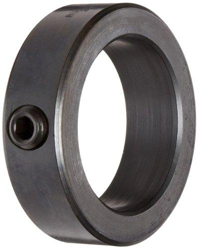 Ruland SC-18-F Set Screw Shaft Collar, Black Oxide Steel, 1.125