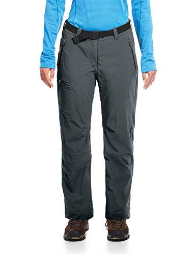 Maier Sports Pantalon Fonctionnel pour Femme Rechberg - Graphite - Taille 52