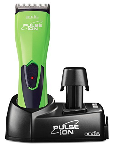 Andis Cordless Pulse Ion Adjustable Blade Clipper, Professional Animal/Dog...