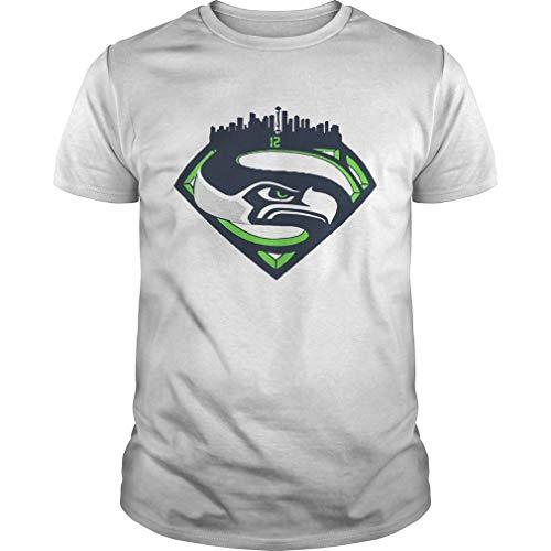 Seattle Seahawks Superman 12 Shirt, Unisex T-Shirt, Hoodie, Sweatshirt for Men Women