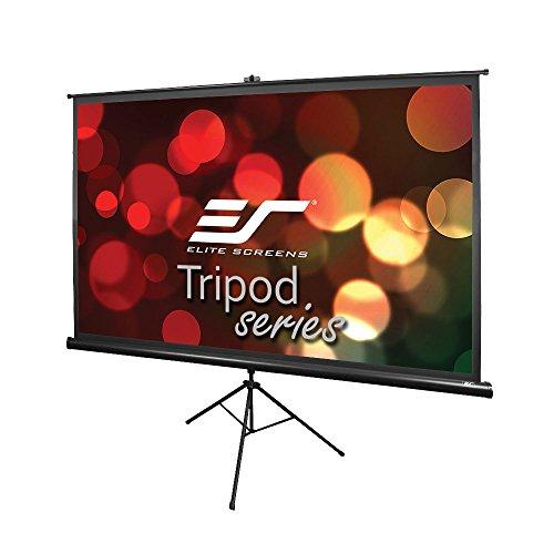 Elite Screens Tripod Series, 60-INCH 16:9, Indoor Outdoor Projector Screen, 8K / 4K Ultra HD 3D Ready, 2-YEAR WARRANTY, T60UWH