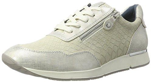 Tamaris Damen 23684 Sneaker, Elfenbein (Offwhite Comb), 39 EU