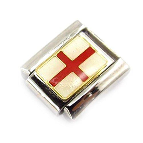 Les Trésors De Lily [C9786 - Maille 'Angleterre Croix de Saint Georges'