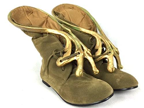 thecostumebase Slave Leia Jabba Boots Footwear Jerba Skin Shoes Princess Star Wars (US 9)