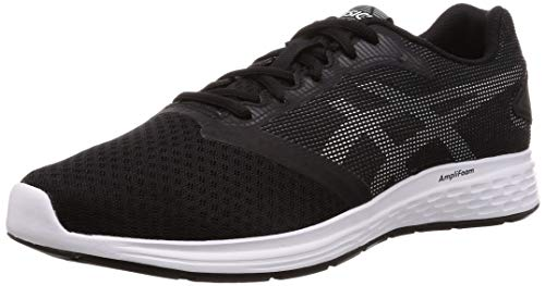 ASICS Patriot 10, Scarpe da Running Uomo, Nero (Black/White 002), 42 EU