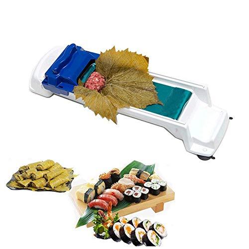 Macchina per Sushi da Casa,Strumento per Fare Sushi,Strumento per Sushi in Plastica Strumento,Rullo di Carne,Strumento per Arrotolare le Verdure,per la Carne di Verdure Rolling Sushi Making Tool