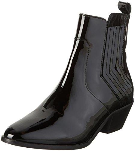 Pepe Jeans London DINA NEW ELASTIC, Damen Chelsea Boots, Schwarz (BLACK 999), 40 EU