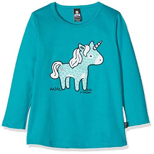 Trigema 102535019 T-Shirt, Turquoise (Lagune 054), 92 Mixte bébé
