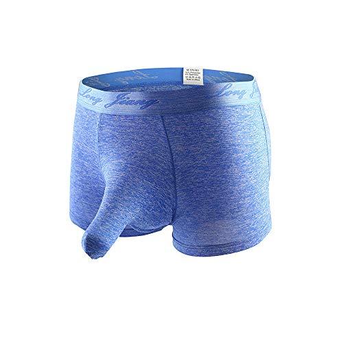 Celucke Elefanten Boxershorts Unterhosen Männer aus Bio-Baumwolle, Herren Unterwäsche Hüftslips Retroshorts Hipster Fitted Basic Boxer Shorts