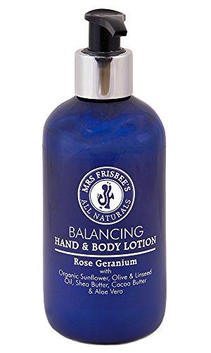 Balancing Organic Hand & Body Lotion with Rose Geranium (250ml)