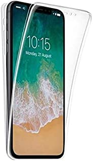 جراب شفاف لهاتف Apple iphone 6 Plus / 6s Plus، جراب شفاف فائق النحافة 360