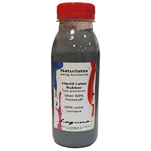 Flüssiglatex 500 ml SCHWARZ Latexmilch,Naturgummi flüssig, Latex, Gummimilch, Sockenstopp liquid latex