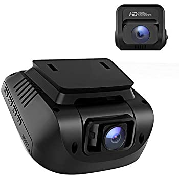 "Crosstour Dash Cam, 1080P Car Camera Front and Rear, 170° Wide Angle Driving Recorder for Cars Optional GPS, 3"" LCD, HDR, Support 128GB, Supercapacitor, Motion Sensor, G-Sensor, Loop Recording"
