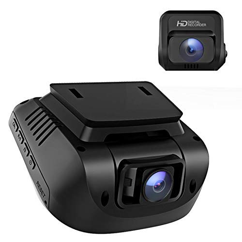 Crosstour Dash Cam, 1080P Car Camera Front and Rear, 170° Wide Angle Driving Recorder for Cars Optional GPS, 3' LCD, HDR, Support 128GB, Supercapacitor, Motion Sensor, G-Sensor, Loop Recording