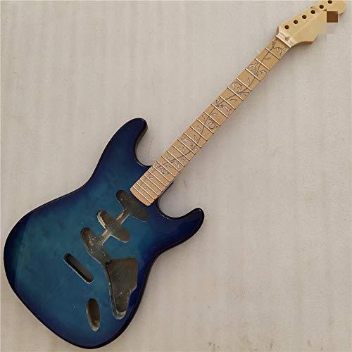 LKAIBIN Lbellibin 1 Set Fine Classe DE Guitar Clime ELECTURE avec Particules DÉLILLEURS KIT DE Guitar DE GUITAIRE 25.5INCH