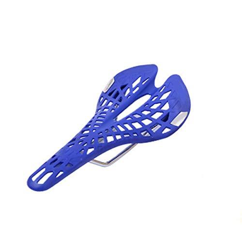 Rovive Fahrradsattel mit integriertem Sattel, Federung, bequemer, langlebiger Fahrradsattel blau