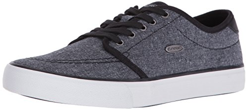 Lugz Men's Rivington Fashion Sneaker, Navy/White, 8.5 M US