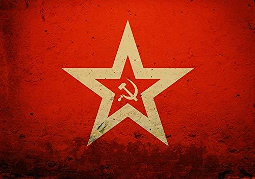 populaire confrontatie spel rode waarschuwing poster hoge kwaliteit canvas schilderij hoge kwaliteit home decor50x75cm