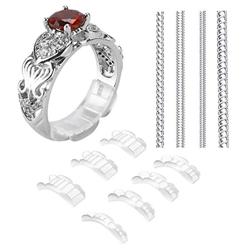 2 Styles Invisible Ring Size Adjuster for Loose Rings