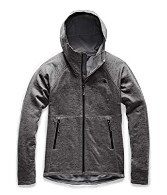 The North Face Women's Canyonlands Hoodie, TNF Dark Grey Heather, Large