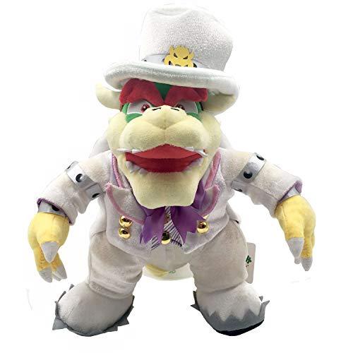 Yijinbo Super Mario Odyssey King Bowser Boss Hochzeit Kleid Plüsch Spielzeug Stofftier Tier 35,6 cm