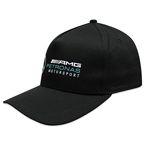 Mercedes AMG Petronas Gorra Motorsport F1 Racing Driver Negro