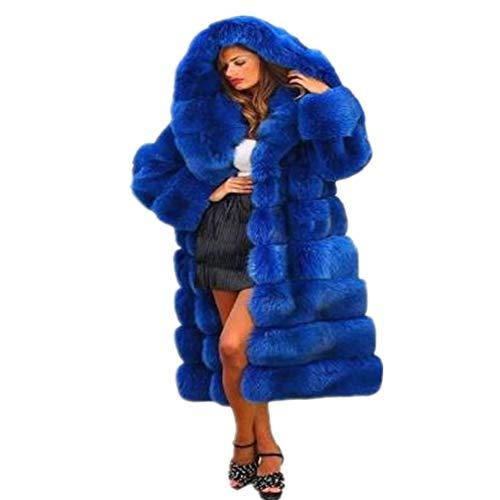 NREALY Jacket Women's Winter Lapel Slim Coat Trench Jacket Long Parka Overcoat Outwear(Wine Red, S)