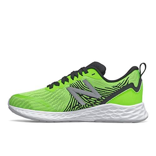 New Balance Zapatos de correr con cordones Tempo V1 de espuma fresca para niños