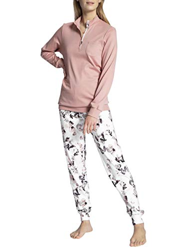 CALIDA Damen Midnight Dreams Pyjamaset, Rose Bud, S