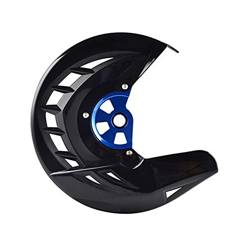 FPZ Fpzhong Cubierta de protección del Disco del Freno Delantero para Yamaha YZ WR YZF WRF 125 250 450 YZ125 YZ250 YZ125X YZ250X YZ250F YZ450F WR250F WR450F 06-2020 (Color : Black)