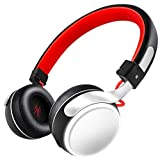OneOdio Wireless On Ear Headphones Bluetooth On Ear Headset, Subwoofer Deep Bass+ with LED Litght Comfortable Foldable Headphones for Sport, Running, Gym, Music, Video, Hands-Free Call