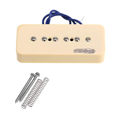 Wilkinson Serie M Alnico 5 P90 Soapbar Pastilla Puente Pickup para Guitarra...