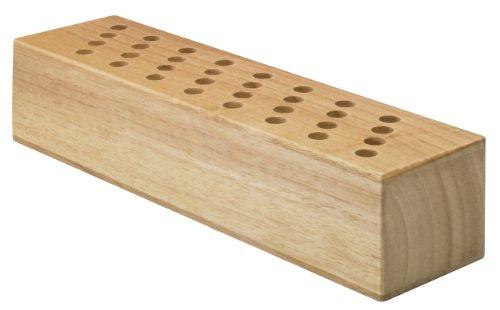 Westcott 112Tidy 00 Scherenblock aus Holz, 32 Stück, ohne Bestückung
