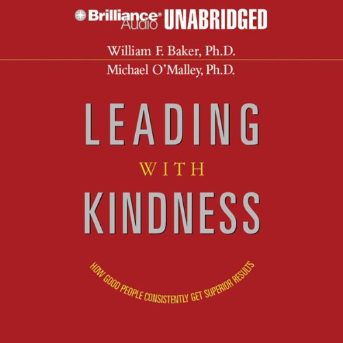 Leading with Kindness audiobook cover art