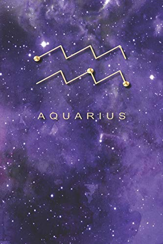 Aquarius: Lined Paper Journal (Series, Band 5)